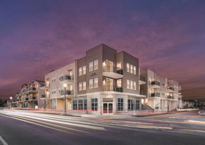 Completed in 18 mos.   Mixed-Use Podium Build Ventura, CA